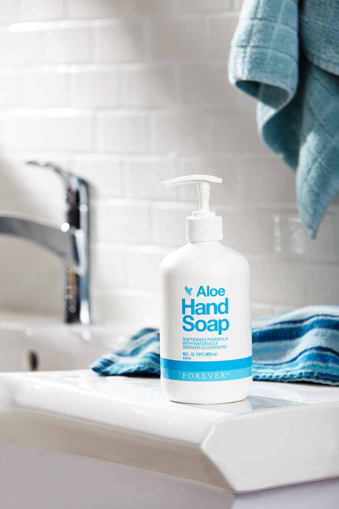 savon main liquide aloe vera