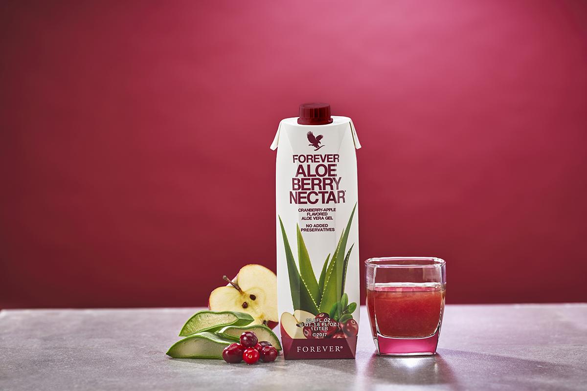 Pulpe d'Aloe Vera Berry Nectar