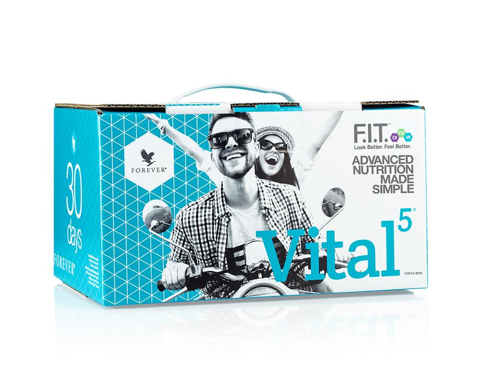 pack vital 5 forever