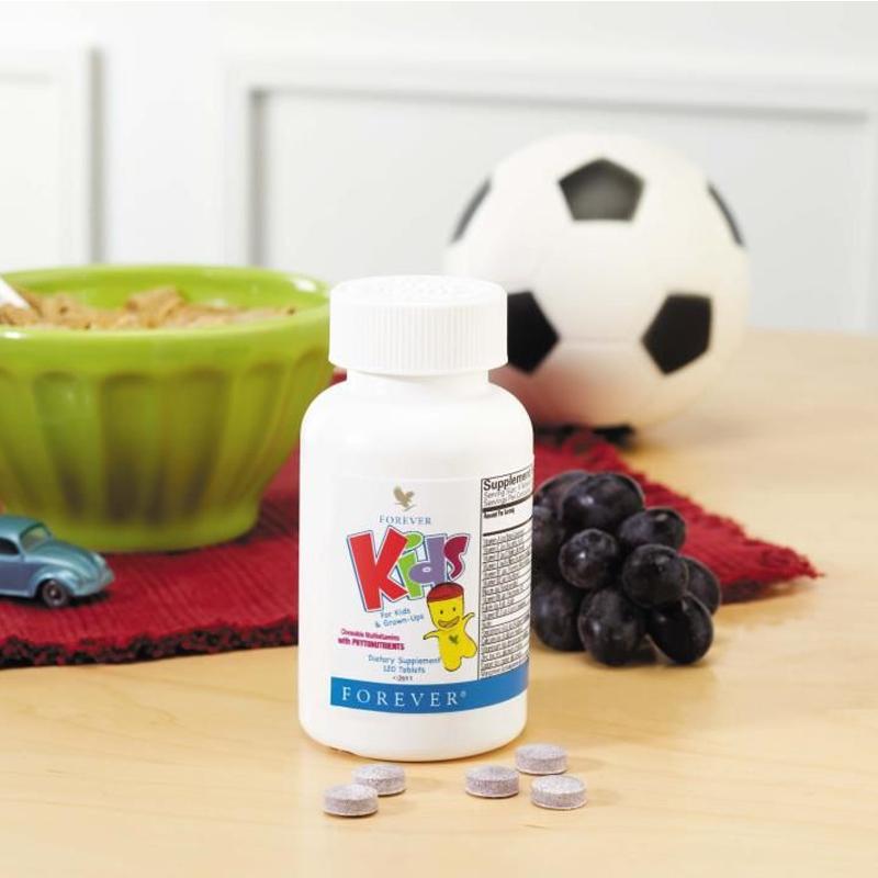 vitamines enfant naturelles Forever Kids