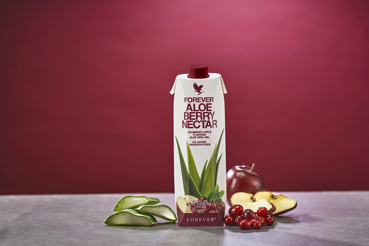 berry nectar aloe vera gel pour les fumeurs
