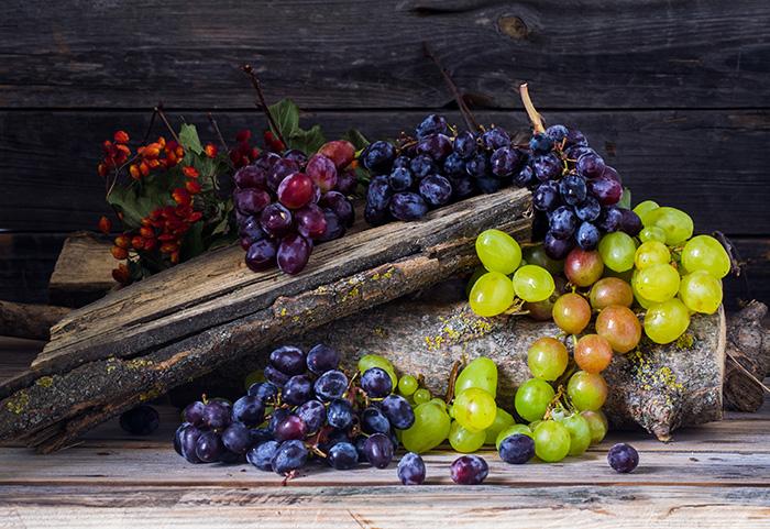 fruits automne raisin