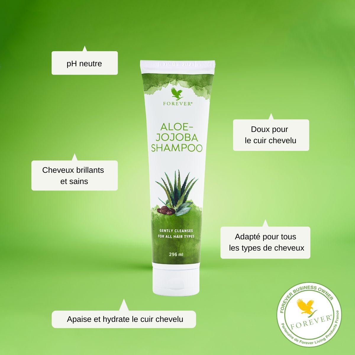 shampoing aloe jojoba forever