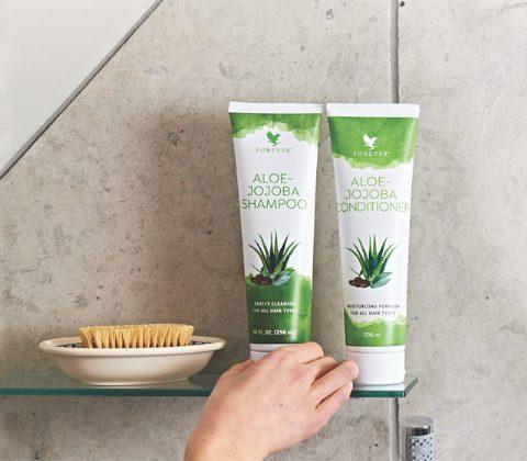 après-shampoing aloe jojoba forever