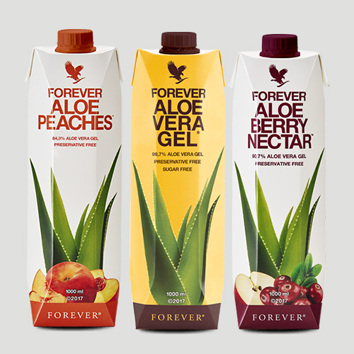 Forever Aloe vera Gel tripack mix