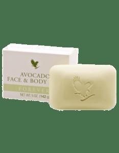 Avocado Face & Body Soap fra Forever Livinh