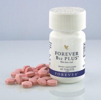 Forever B12 Plus i nekoliko tableta