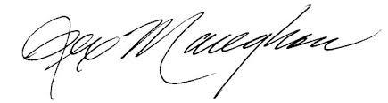 Rex Maughan potpis