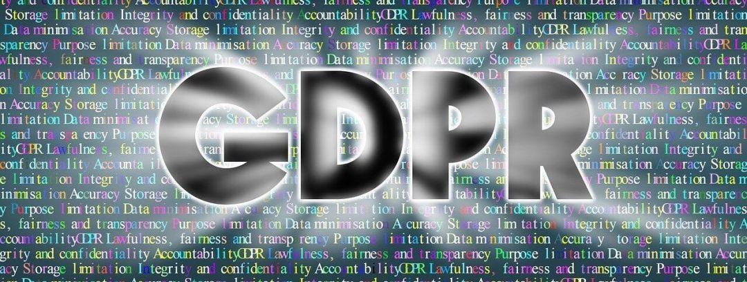 GDPR dekorativni tekst