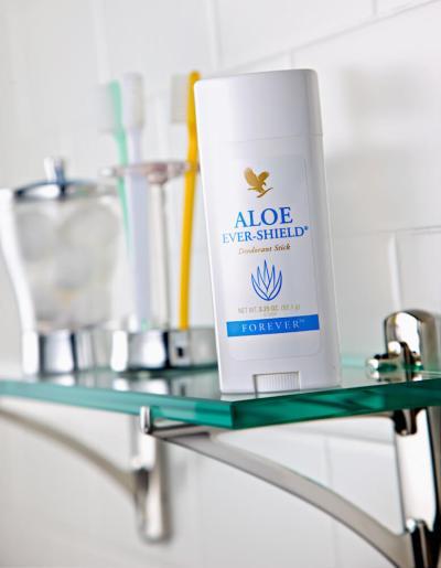 Aloe Ever Shield u kupatilu