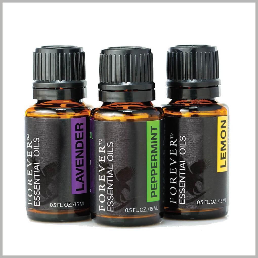 Forever Essential Oils Tri Pak 2