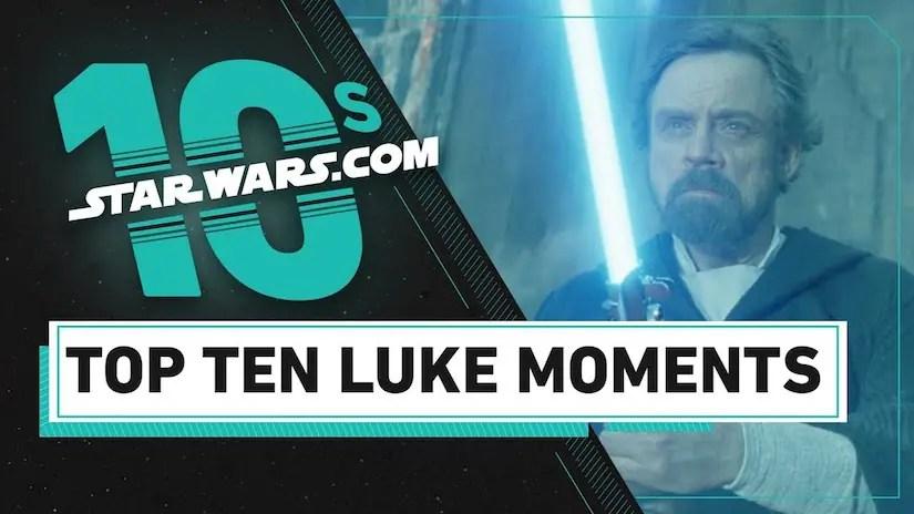 Top 10 Luke Skywalker Moments
