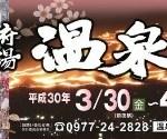 第104回 別府八湯温泉まつり 2018 3/31(金)~4/3(月) [祭り]