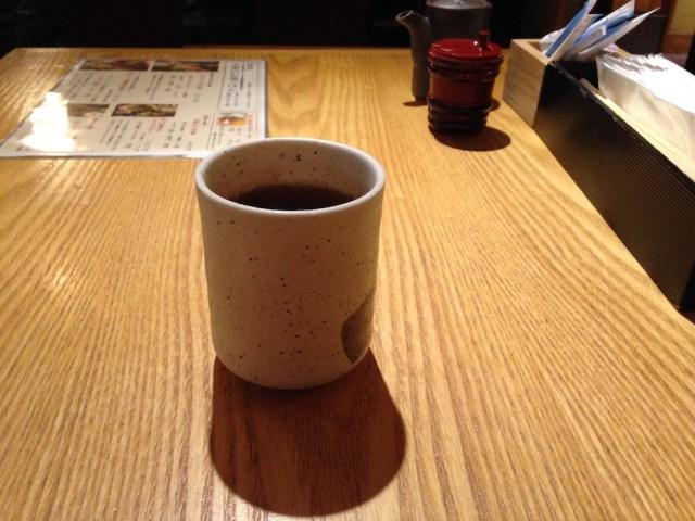 神楽坂ランチ(文楽)お茶
