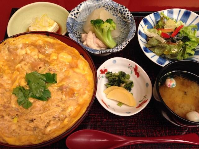 神楽坂ランチ(鳥茶屋 別亭)親子丼ランチ