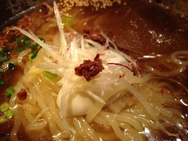 神楽坂ランチ(神楽坂 翔山亭)冷麺2