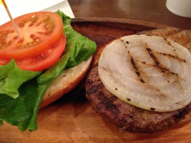 ハワイアンカフェ(クアアイナ)ハンバーガー