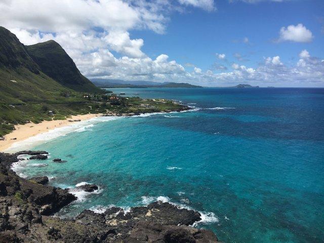 ハワイのマカプウ・ポイント・ライトハウス・トレイル