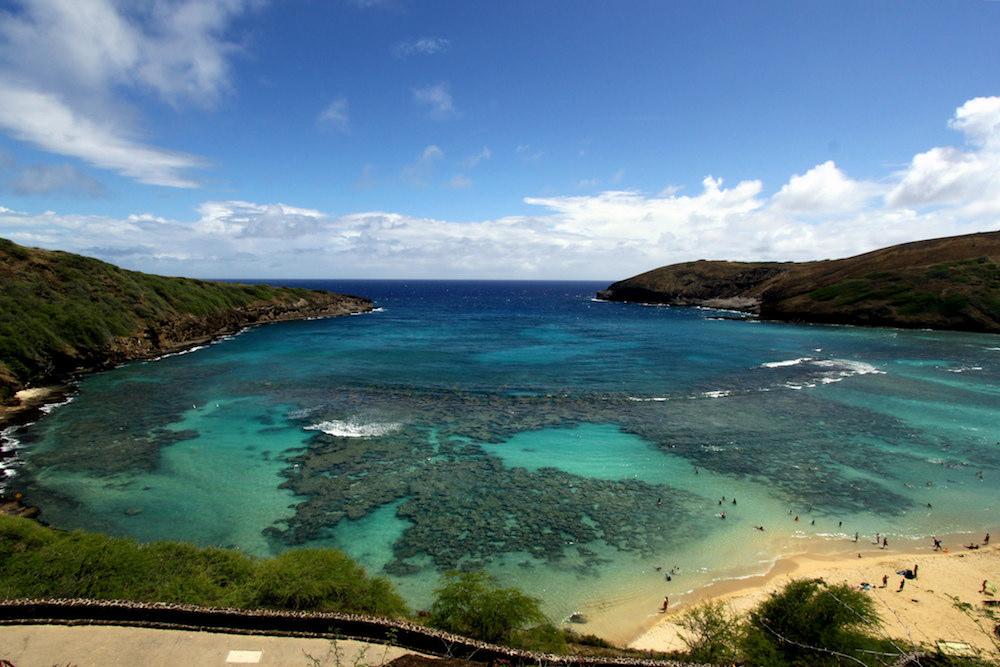 ハワイのハナウマベイ