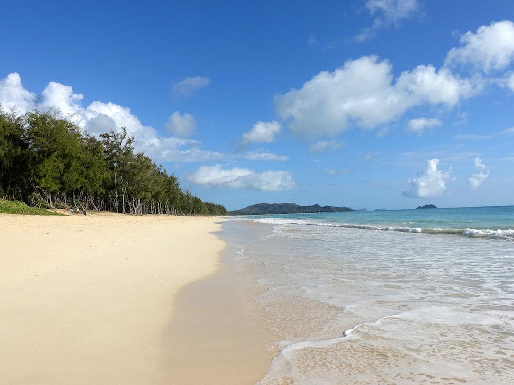 ハワイのワイマナロ・ビーチ