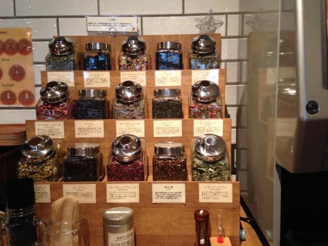 神楽坂カフェ(タイムズカフェ・ドリンクコーナー2)