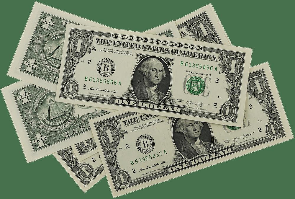ハワイのチップ(ドル)