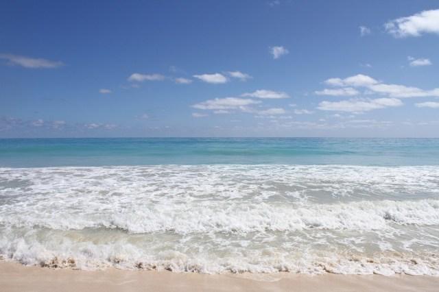 ハワイのワイキキビーチ
