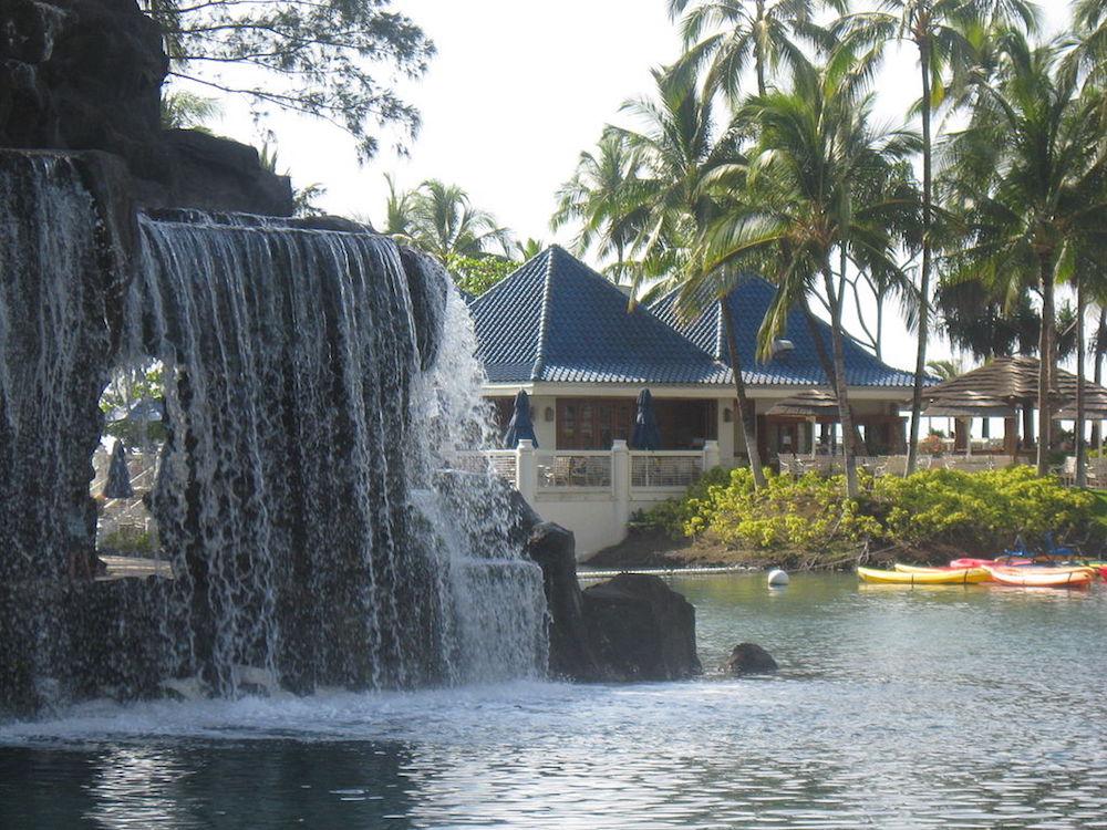 ハワイ島のホテル(ヒルトンワイコロアビレッジ)
