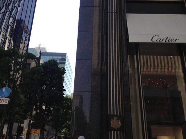 東京のアフタヌーンティー(銀座ビルズ・アクセス)