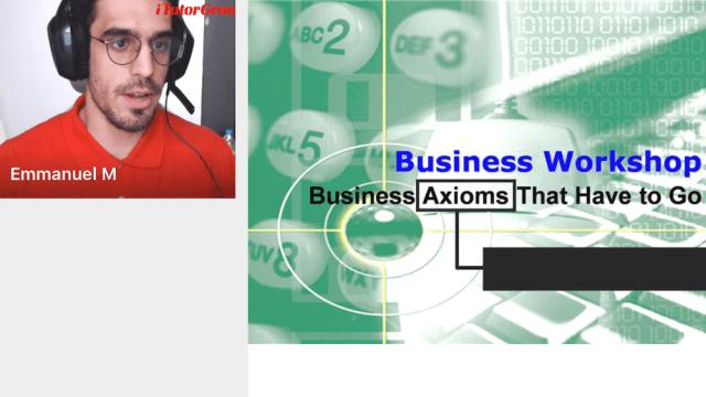 vipabcの体験談(ビジネス論・最初の画面)