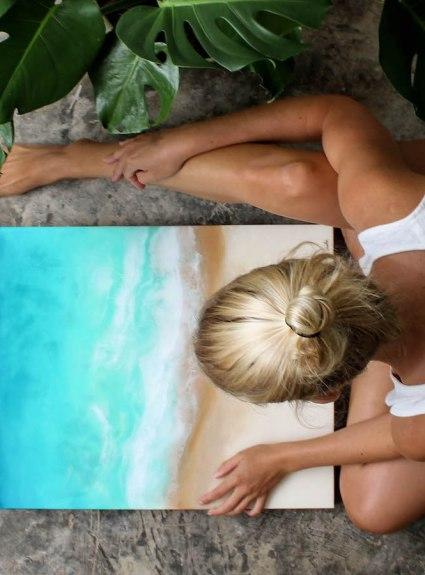 Aloha Series // Meet Artist Sarah Caudle