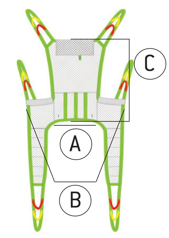 Alohamedical_Toileting sling_dimension