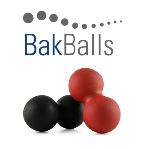 BakBalls self treatment relief for back and neck pain