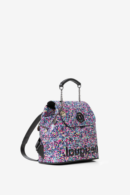mochila trenzada