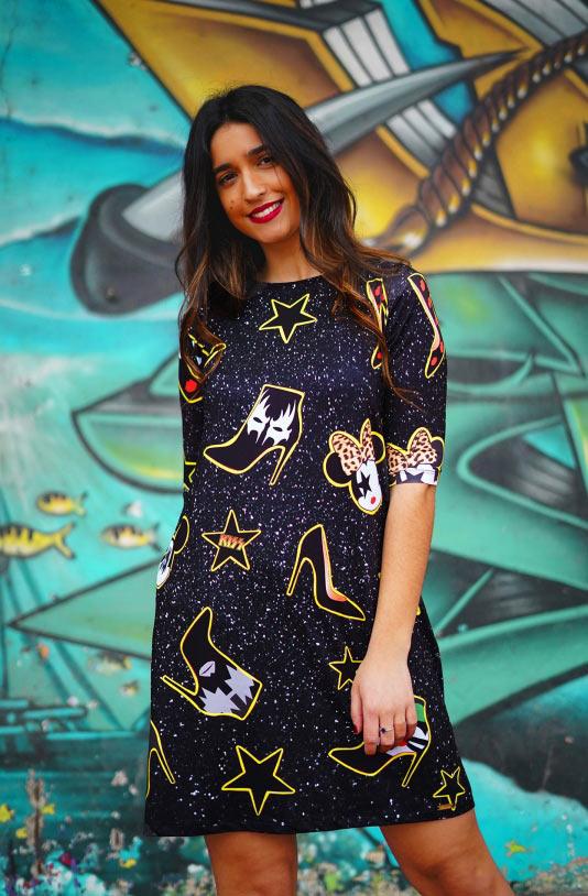 vestido de la pantera lola llame kiss vestido aloha moda