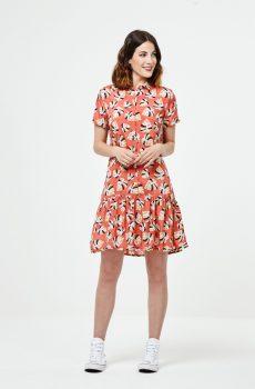 vestido estampado surkana