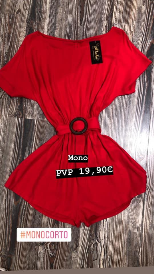 mono corto low cost aloha