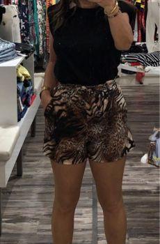 shorts animal print aloha