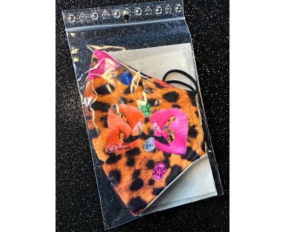 mascarilla leopard lexury la pantera lola