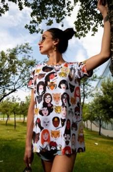 Camiseta todas somos chicas pantera