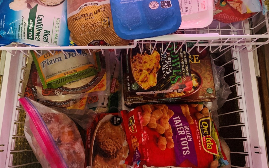 31 Day Tidy-Your-Life Challenge DAY 29- Purge Freezer