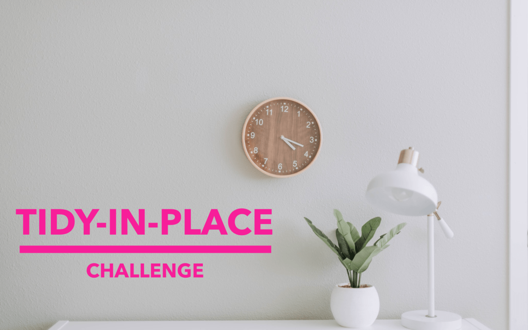 April 2020 Tidy-in-Place Challenge
