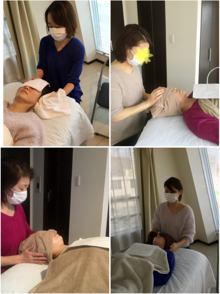 new headmassage technic