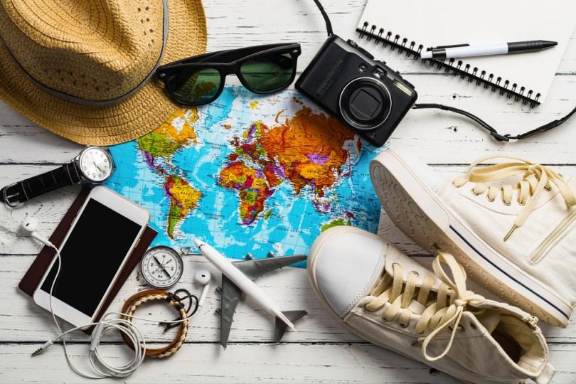 海外の地図と旅行グッズ