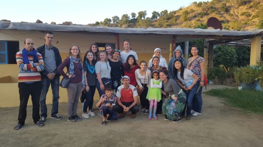 Rif Mountains: Local Family