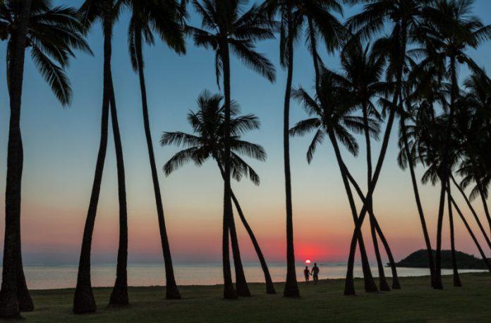 Sunset at Molokai.