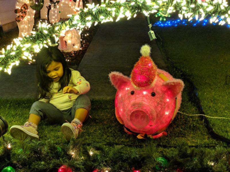 Anapau Place Christmas lights