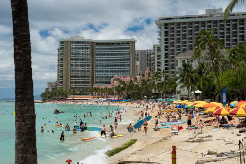 Why you shouldn't visit Hawaii in June - there are bigger crowds due to the summer break.