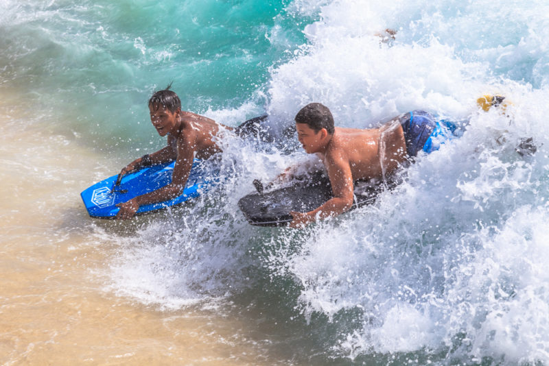 150 Things To Do On Oahu - Boogie board