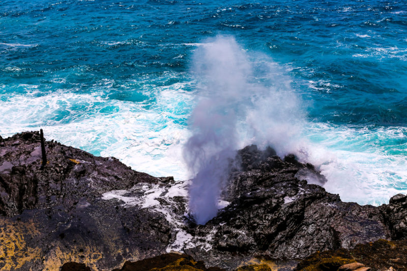150 Things To Do On Oahu - See Halona blowhole.